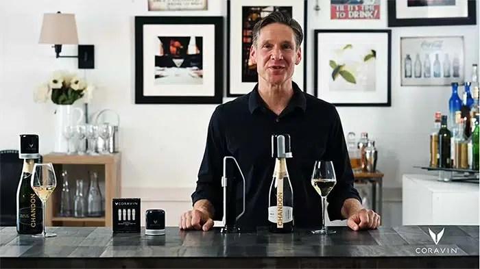 Coravin Sparkling ha hecho posible la conservación del vino espumoso