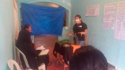 Escuela agroecológica en Chocamán