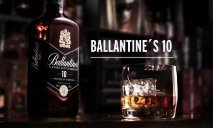 Ballantine's 10 American Barrel, una fórmula pionera que combina dos mundos