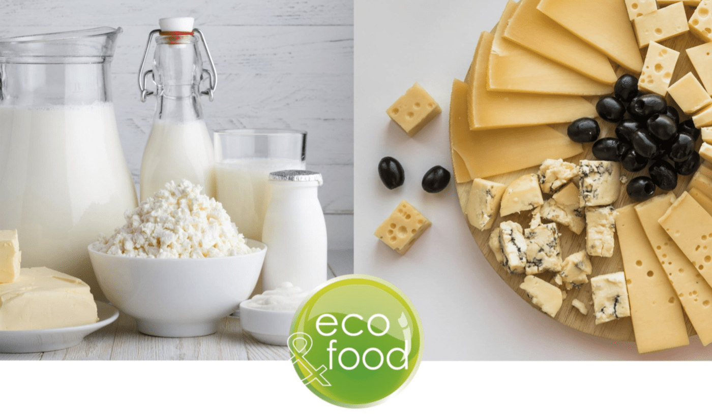 Eco-friendly food packaging for Dairy products