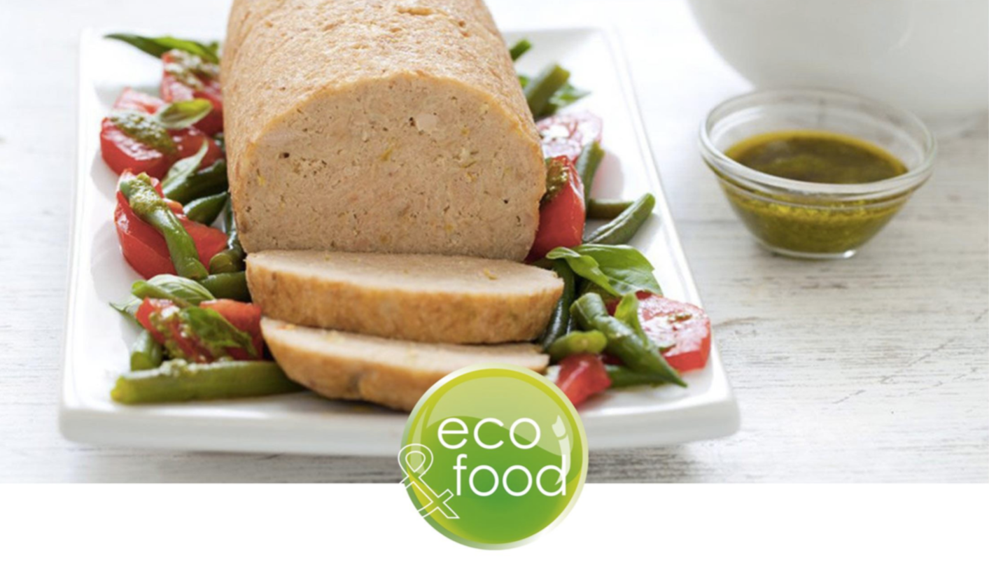 Eco-friendly food packaging for meat ready meals