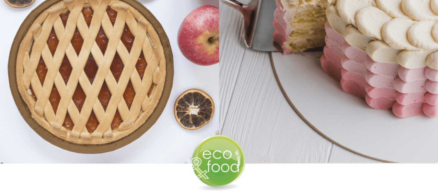 Eco-friendly food packaging for Backed products