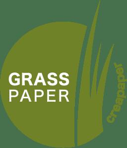 logo grass paper