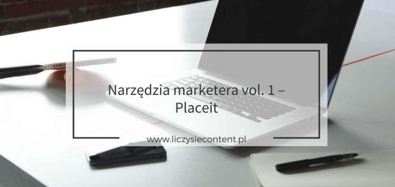 Narzędzia marketera v.1 – Place it
