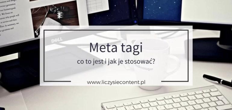 Meta tagi – co tojest ijak je stosować?