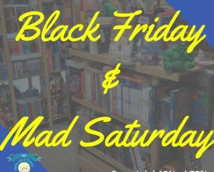Black Friday & Mad Saturday...L'idea che ti sconta!