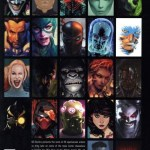 The Complete Year of the Villain Portrait Variants retro