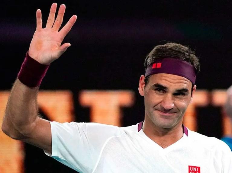 Lesión en la rodilla alejó a Roger Federer de Tokio 2020