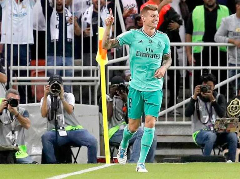 Toni Kroos confinado y será baja ante el Athletic de Bilbao