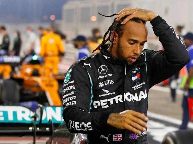 """Hamilton sobre su golpe en la Q3: """"Fue cien por cien culpa mía"""""""