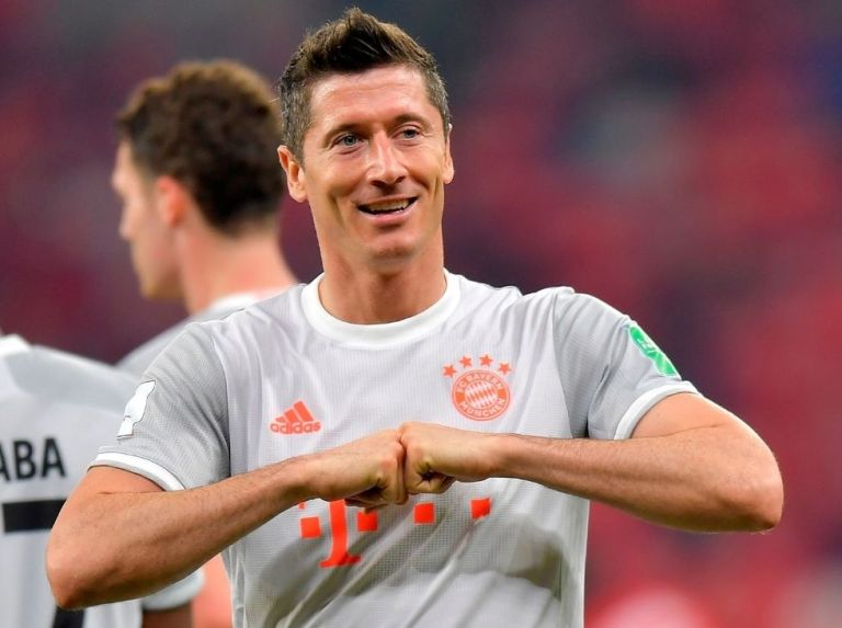 Lewandowski voted player of the year in Germany