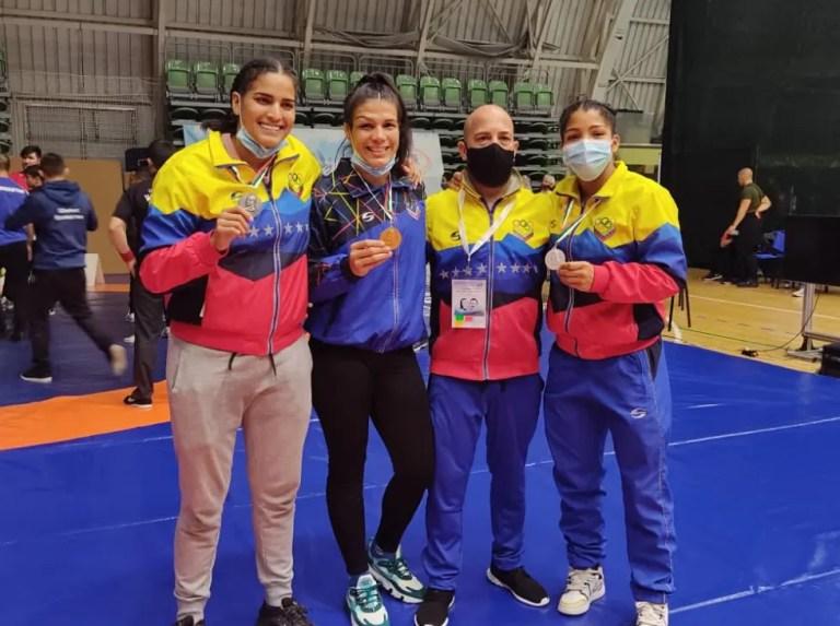 Brilliant performance of the Venezuelan Wrestling team