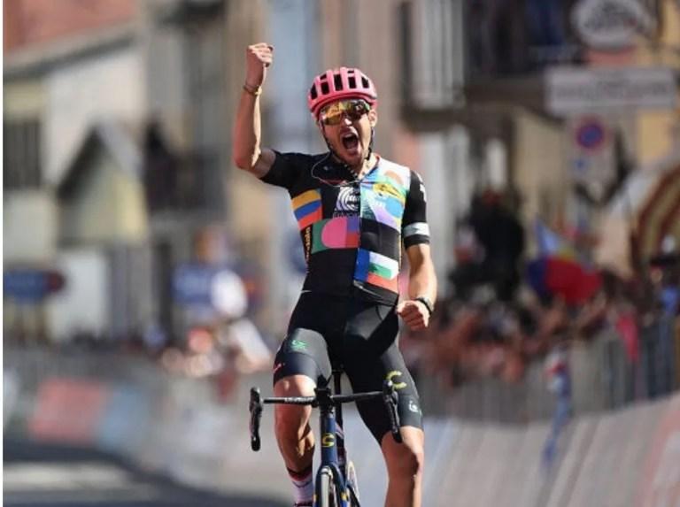 Alberto Bettiol se llevó la etapa 18 del Giro de Italia