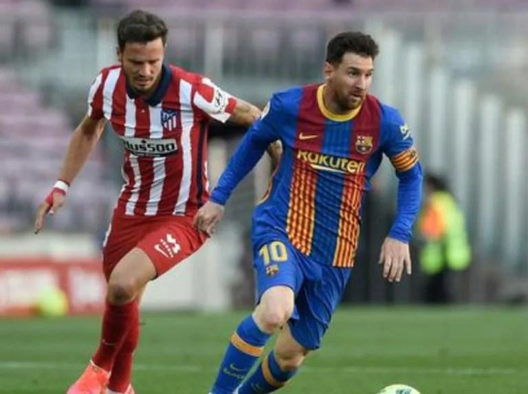 Barcelona and Atlético de Madrid were not hurt