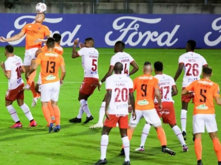 Deportivo La Guaira empató sin goles con América de Cali