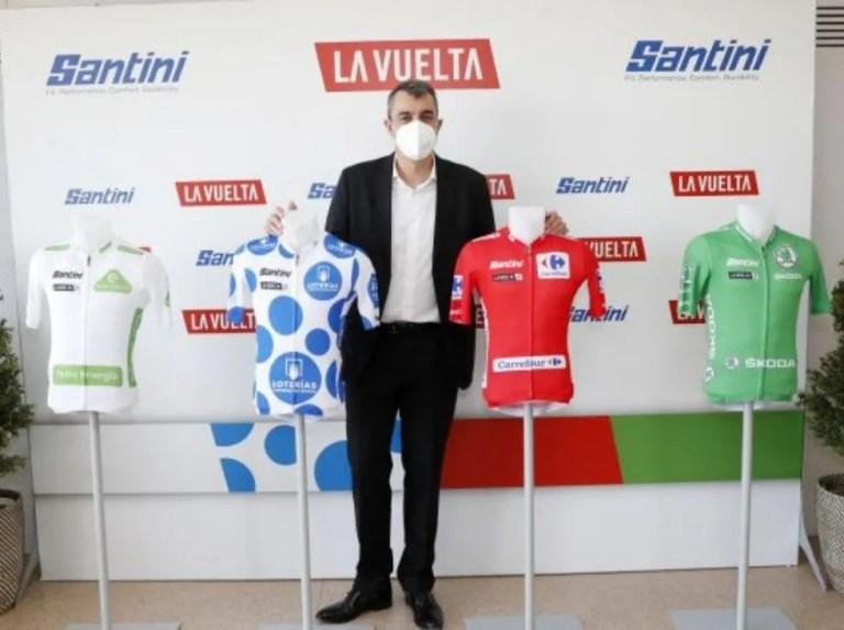 Vuelta a España unveiled the jerseys for the 2021 edition