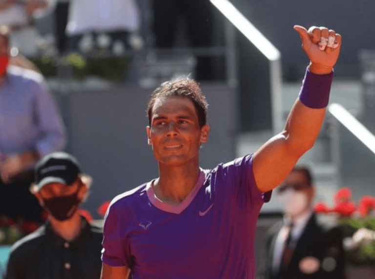 Nadal beats Popyrin and advances to the quarterfinals