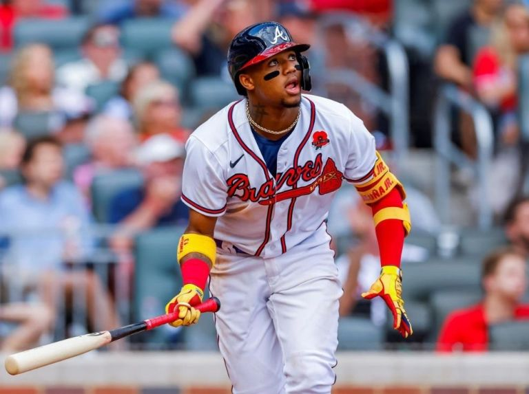 Snitker again drew attention to Ronald Acuña Jr.