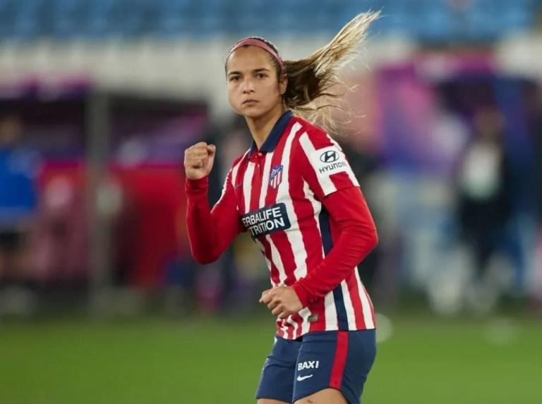 Deyna fue la heroína del Atlético de Madrid