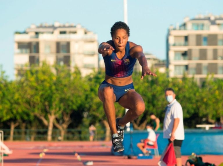 Yulimar Rojas broke national record in long jump