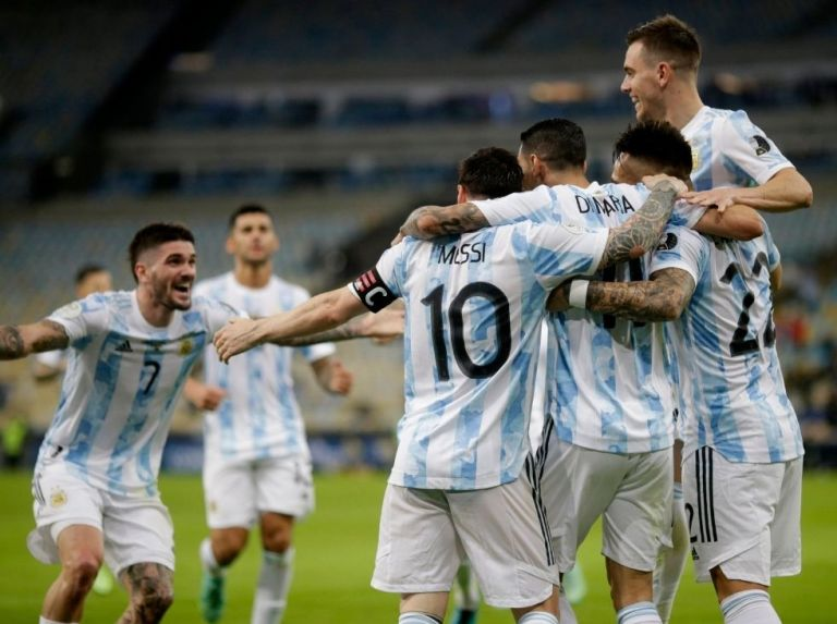 Argentina is crowned champion of the Copa América