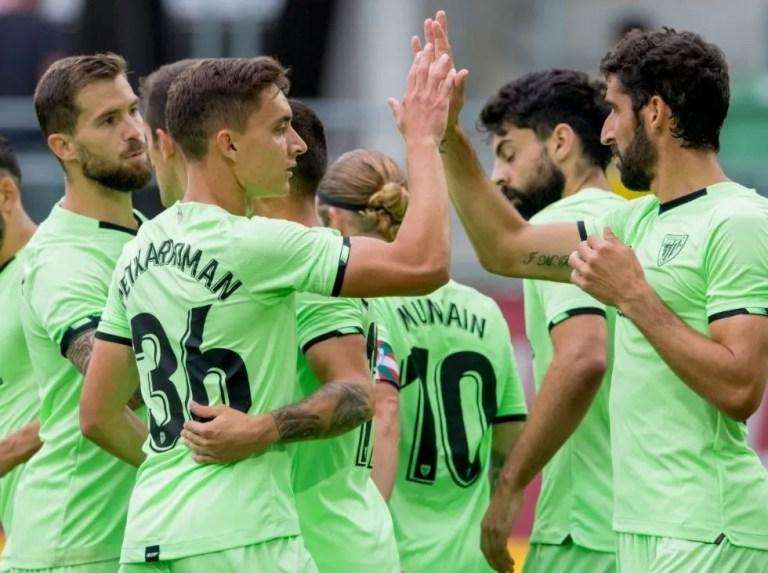 Athletic beat Borussia Dortmund in a friendly match