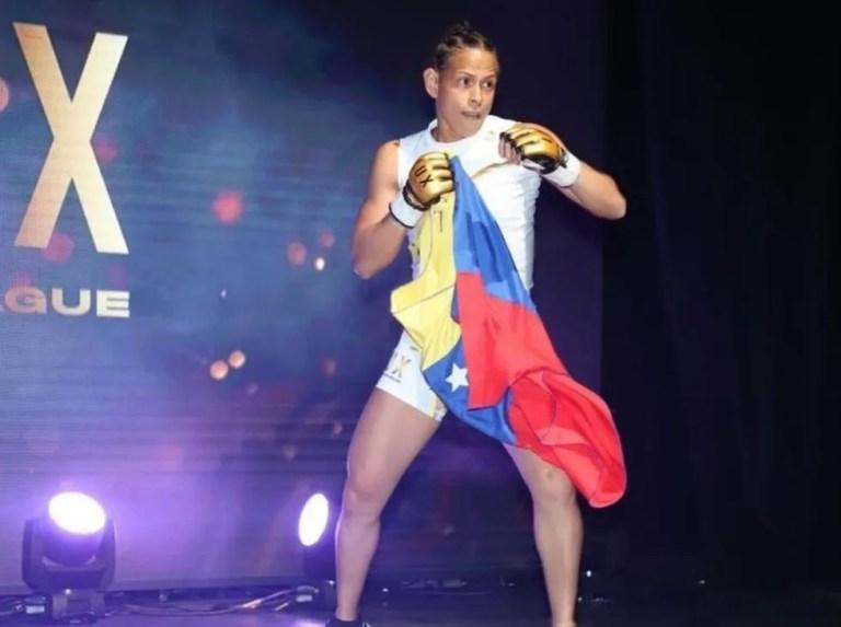 Daniela Villasmil makes her way like a warrior