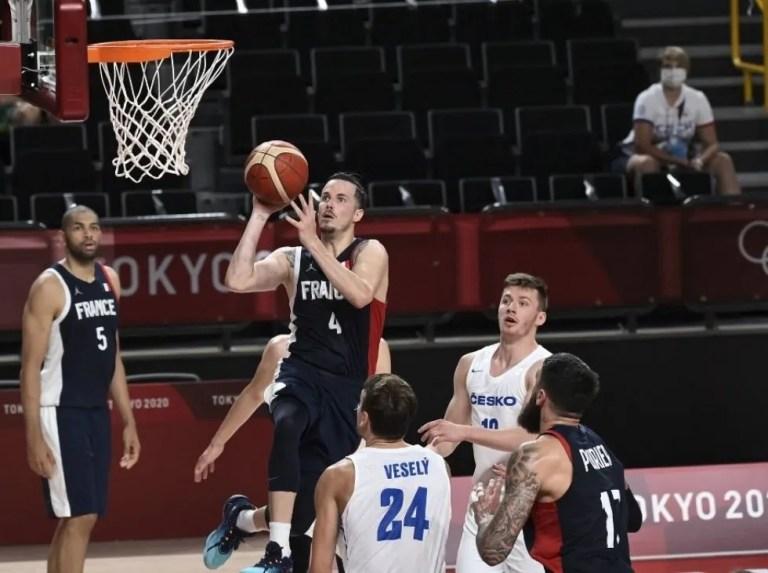 Francia sigue imparable en el baloncesto olímpico