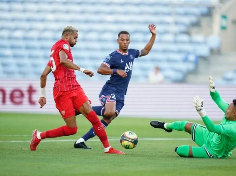 PSG igualó ante el Sevilla sin Sergio Ramos