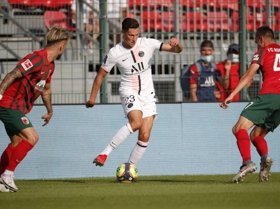 PSG beat Augsburg without Ramos