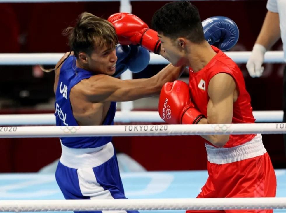 Yoel Finol fell to Japanese Ryomei Tanaka