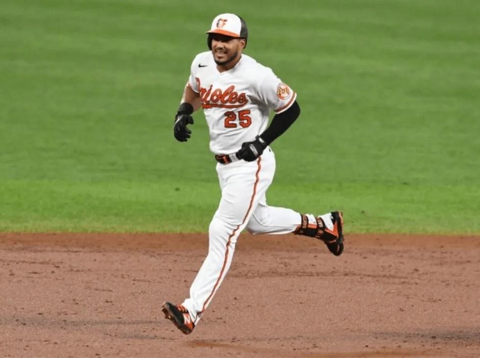 Anthony Santander llegó a 50 jonrones en MLB
