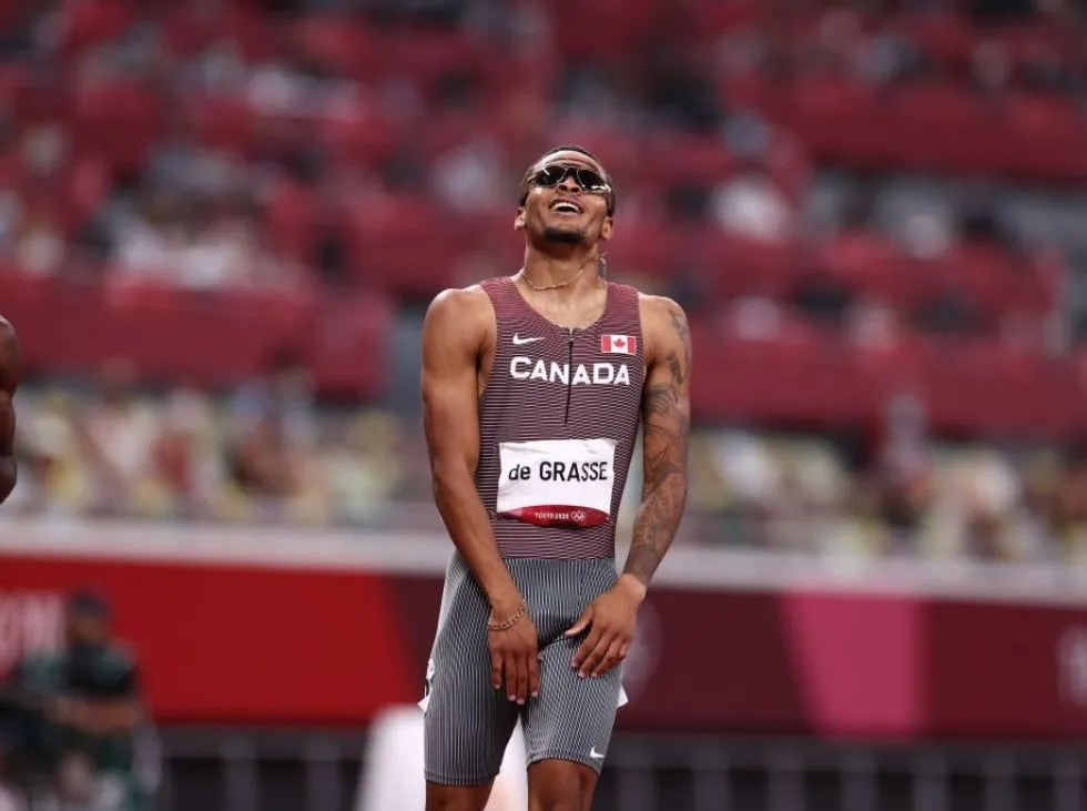 De Grasse se llenó de oro en los 200 m