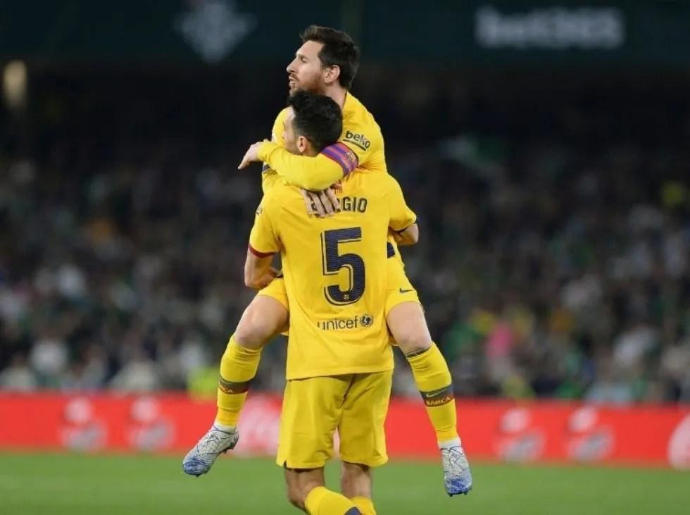 Busquets recuerda a Messi previo al encuentro de Champions