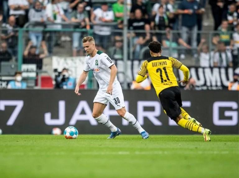 Dortmund cayó ante el Mönchengladbach por la mínima