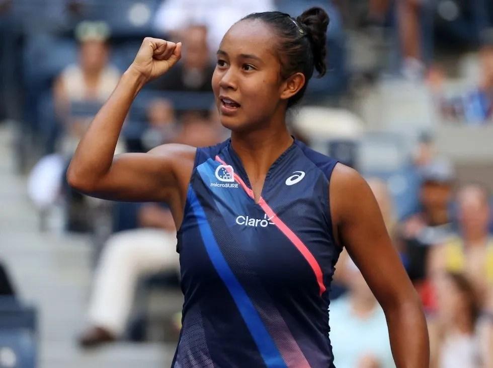 Leylah Fernández otra joven que sorprende en el US Open
