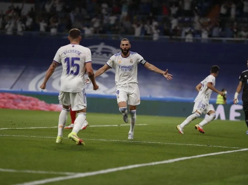 Real Madrid ganó en su retorno al Bernabéu