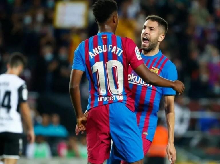 El Barcelona reaccionó para frenar al Valencia