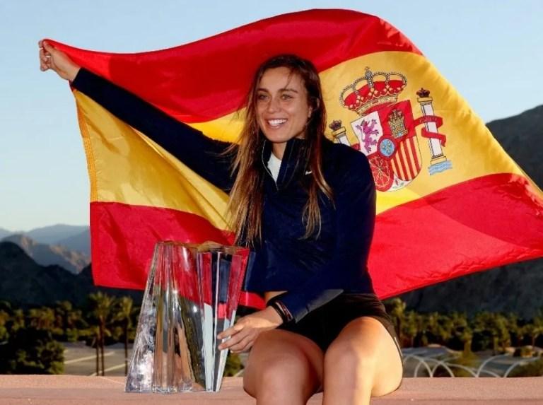 Badosa es la primera tenista española en ganar el Indian Wells