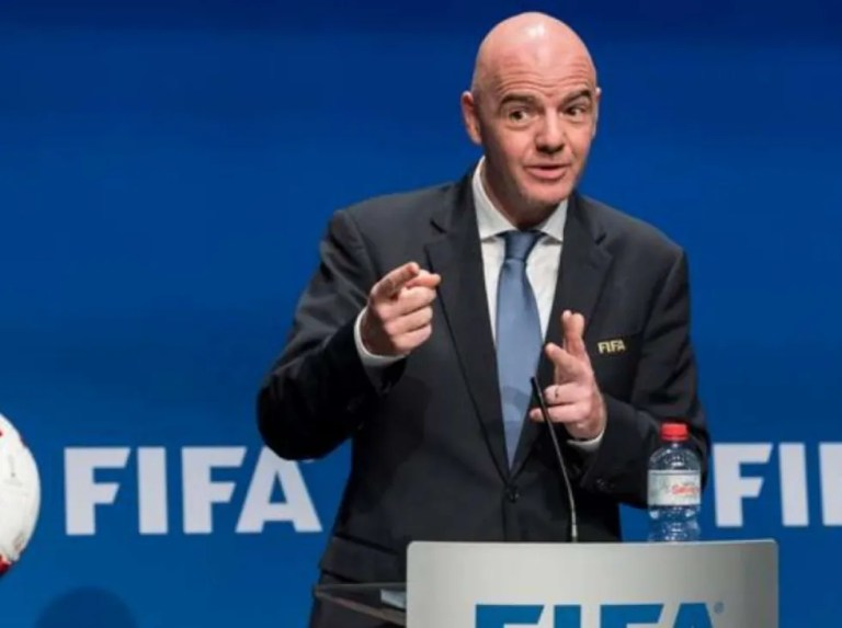 Infantino seeks support for biannual World Cup