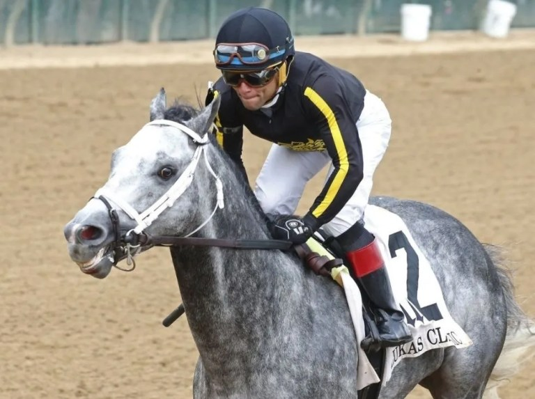 Dominican Joel Rosario after his first Eclipse Award