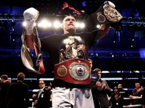 Left hook | Usyk escorts «Canelo» in the 10 of The Ring