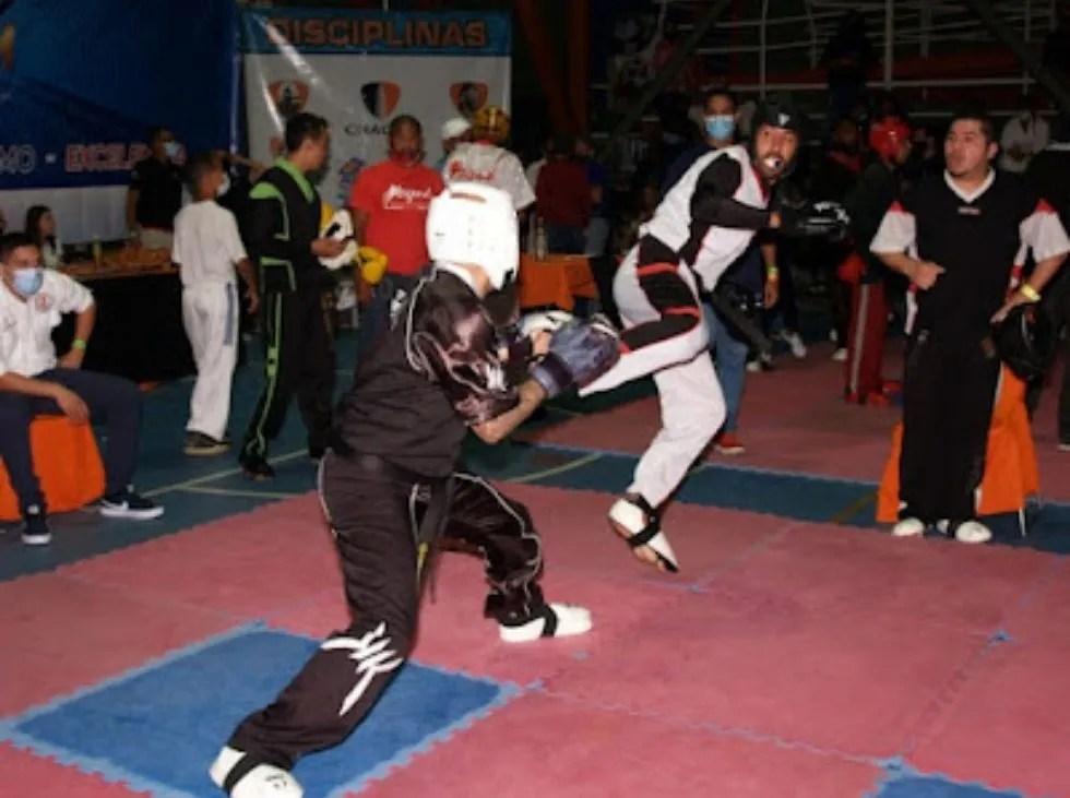 Regresan las artes marciales venezolana en pandemia