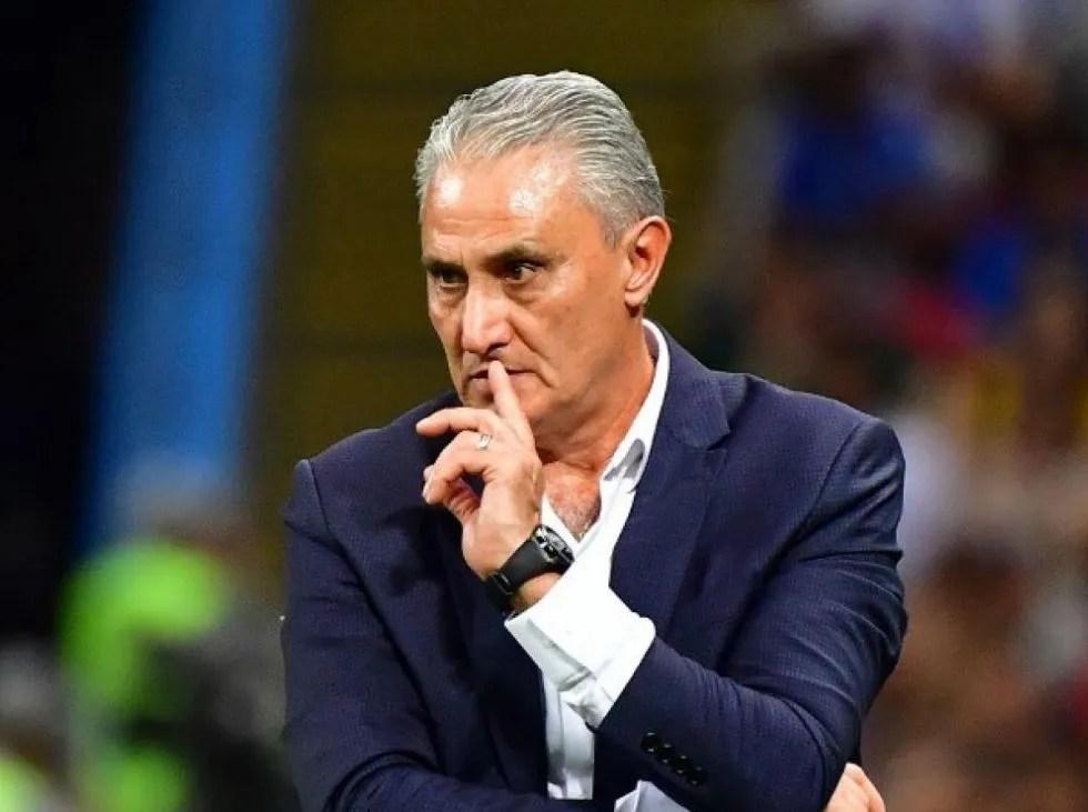 Tite confirma su frente de ataque para enfrentar a Uruguay
