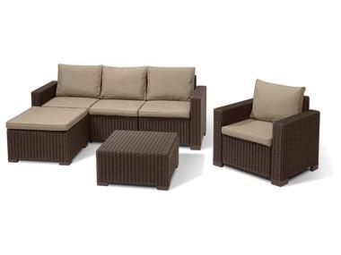allibert set de meubles de jardin moorea california 3 ou 4 pieces