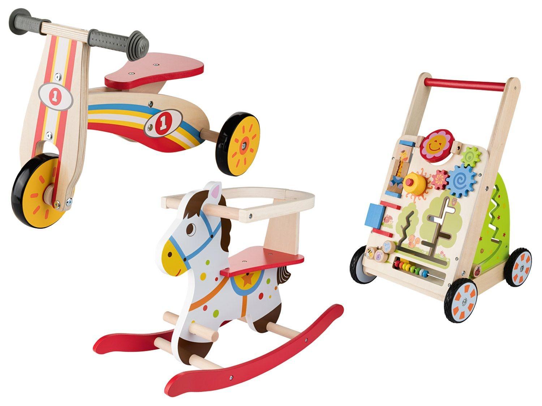 Playtive Junior Cheval A Bascule Chariot De Lidl
