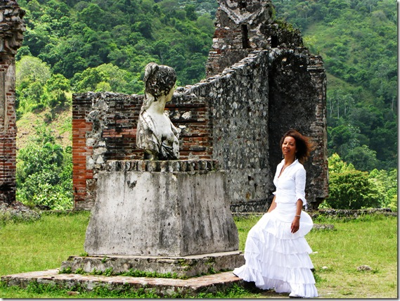 Wandering through the ruins of the Sans-Souci palace in Haiti