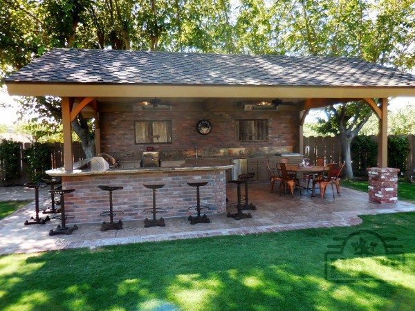 outdoor kitchens lidyoff landscaping