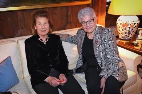 I.D. Fürstin Marie und Heidi Wanger Empfang für die nationalen Gäste Donnerstag, 10. Januar 2019 15.00 Uhr, Schloss Vaduz, Fotograf: Roland Korner