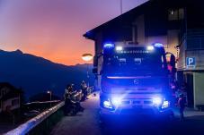 Feuerwehr, Nacht der offenen Tore 2019, Bild aufgenommen beim Feuerwehrdepot in Triesenberg am 30.08.2019 FOTO: DANIEL SCHWENDENER